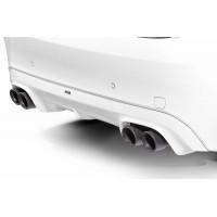 """AC Schnitzer BMW Dual Rear Silencer """"sport black"""" for F15 X5 / F16 X6 35i (P/N: 18122153879 )"""