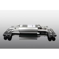 AC Schnitzer Muffler with Black Quad Tips for BMW G30 530i / 530iX (P/N: 18123302129)