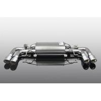 AC Schnitzer Muffler with Chrome Quad Tips for BMW G30 M550iX (P/N: 1812330512)