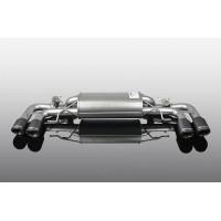 AC Schnitzer Muffler with Carbon Fiber Quad Tips for BMW G30 M550iX (P/N: 1812330514)