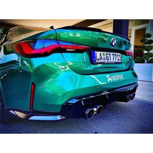 Akrapovic Titanium Evolution Short Link Pipe Set for BMW G80 M3 | G82 M4 incl. Competition (P/N: E-BM/T/13)