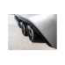 Akrapovic Titanium Exhaust with Carbon Fiber Tips for BMW F98 X4M | X4M Competition (P/N: S-BM/T/10H-CX4)