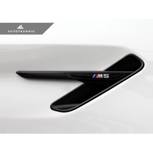 AutoTecknic Glazing Black Fender Trim - F90 M5 (P/N: BM-0081-GB)