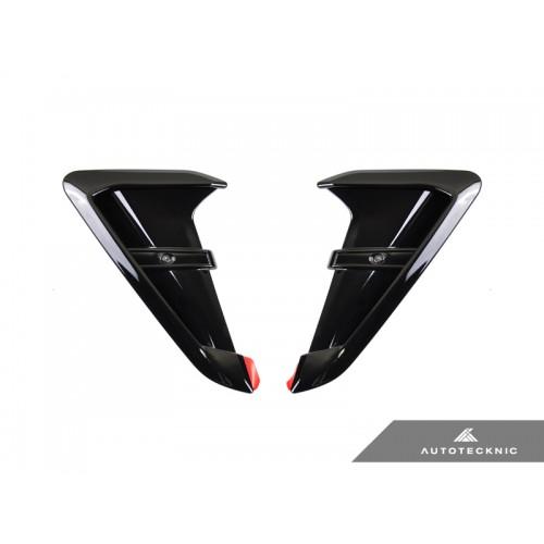 AutoTecknic Glazing Black Fender Trims - BMW F97 X3M | F98 X4M incl. Competition (P/N: BM-0093-GB)