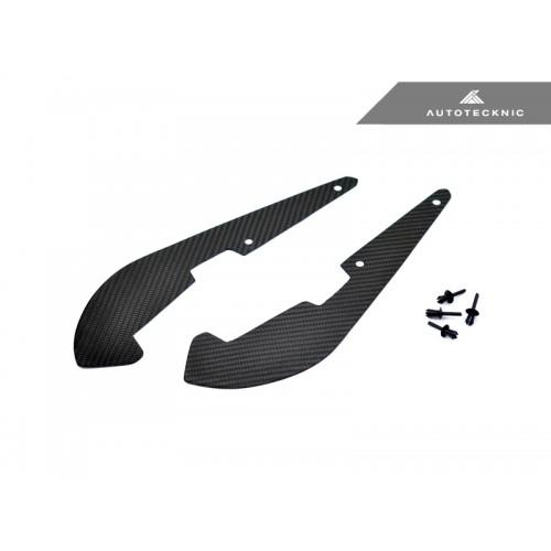 AutoTecknic Carbon Fiber Front Splash Guards - BMW F90 M5 (P/N: BM-0107)