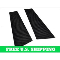 Autotecknic BMW Carbon Fiber B-Pillar Covers E92 Coupe (P/N: BM-0127)