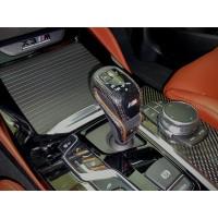 AutoTecknic Carbon Fiber Gear Selector Side Covers - F90 M5 | F97 X3M | F98 X4M (P/N: BM-0130)