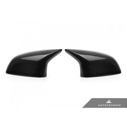 AutoTecknic Replacement Carbon Fiber Mirror Covers - F85 X5M   F86 X6M