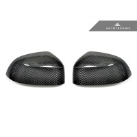 AutoTecknic Replacement Carbon Fiber Mirror Covers - F25 X3 LCI | F26 X4 | F15 X5 | F16 X6