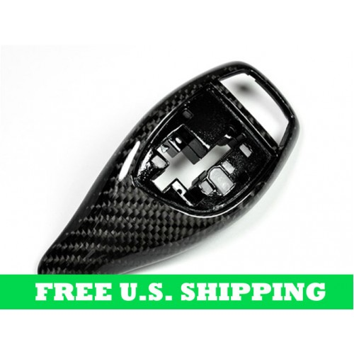 Autotecknic BMW Carbon Fiber Gear Selector Cover Sport Automatic Transmission Equipped Only (P/N: BM-0197)