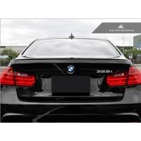 Autotecknic BMW Carbon Fiber Trunk Lip Spoiler F30 3-Series Sedan / F80 M3 (P/N: BM-0260)
