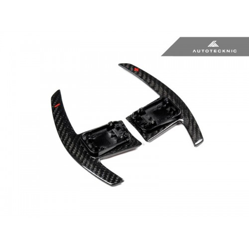 AutoTecknic Dry Carbon Battle Version Shift Paddles - BMW G-Series Chasis (P/N: BM-0264-DCG)