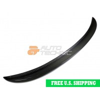 Autotecknic BMW Carbon Fiber Performance Style Trunk Spoiler F30 3 Series Sedan (P/N: BM-0291)
