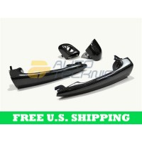 Autotecknic BMW Door Handles Real Carbon Fiber E46 Coupe (P/N: BM-0366)