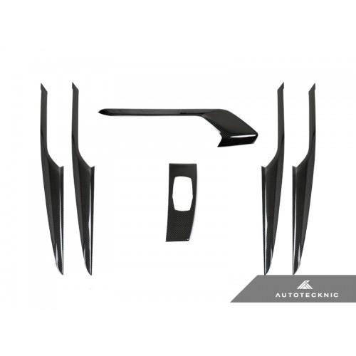 AutoTecknic Dry Carbon Fiber Interior Trim - G01 X3 | G02 X4 | F97 X3M | F98 X4M (P/N: BM-0372)