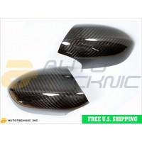 Autotecknic BMW ABS Dry Carbon Fiber Mirror Covers E90 E92 E93 M3 (P/N: DC-0000)
