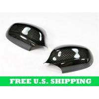 Autotecknic BMW Dry Carbon Fiber Mirror Covers E90 / E91 LCI (09-Up Facelift) 3 Series Sedan / Wagon (P/N: DC-0004)