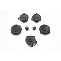 BAVSound Stage One Premium Speaker Upgrade Kit w/ Standard (Hi-Fi) Audio System for BMW F33 F83