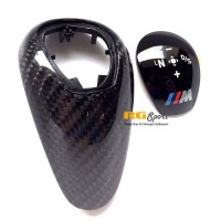 BMW DCT Shift Knob Trim Carbon Fiber for F80/F82 M3/M4 F10 M5 F06/F12/F13 M6 F85/F86 X5M/X6M (P/N: 61312343709)