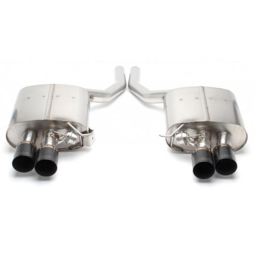 DINAN Free Flow Stainless Exhaust BMW F01 750i | F02 750Li xDrive | Alpina B7 L (P/N: D660-0038-BLK)