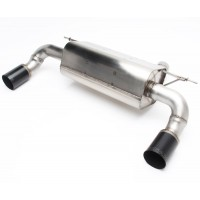 DINAN Free Flow Stainless Exhaust BMW M235i & xDrive F22 Coupe 2014-2016 (P/N: D660-0048-BLK)