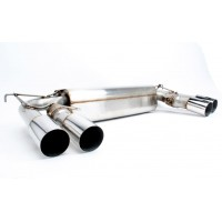 DINAN Free Flow Stainless Exhaust BMW F85 X5M  | F86 X6M 2015-2016 with Polished Tips (P/N: D660-0054)