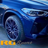 RG Sport BMW OEM Painted Front Reflectors F95 X5M 2020-UP (P/N: RGS.RF95F)