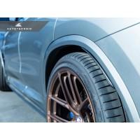 AutoTecknic Carbon Fiber Rear Splash Guards - F97 X3M | G01 X3