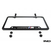 Genuine BMW Powered by M License Plate Frame