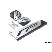 BMW M Performance Stainless Steel Pedal Set - Manual | DCT