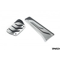 BMW M Performance Stainless Steel Pedal Set - AT