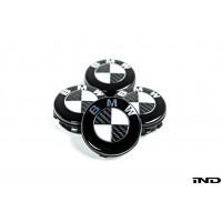 IND Carbon Floating Wheel Center Cap Set - 68mm