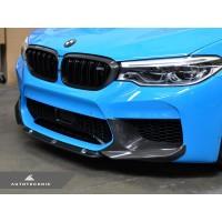 AutoTecknic Dry Carbon Fiber Center Front Lip - F90 M5 | F90 M5 Competition