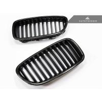 AutoTecknic Carbon Fiber Front Grilles - F10 Sedan/ F11 Wagon | 5-Series