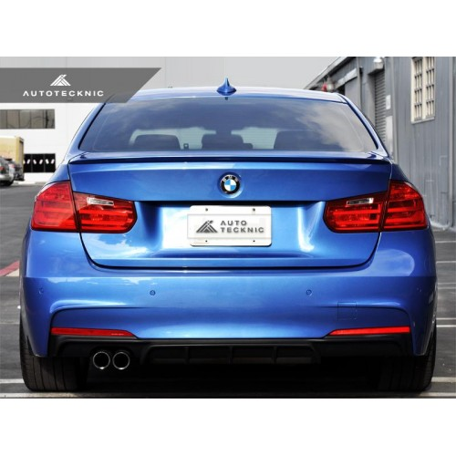 AutoTecknic Low-Kick Trunk Spoiler - BMW F30 3-Series | F80 M3 Sedan