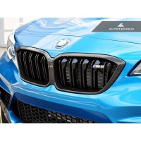 AutoTecknic Replacement Dry Carbon Grille Surrounds - F87 M2 Competition