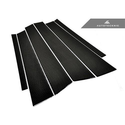AutoTecknic Carbon Fiber B & C Pillar Covers - BMW F30 3-Series Sedan