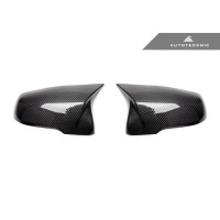 AutoTecknic M-Inspired Carbon Fiber Mirror Covers - F10 5-Series 14-16