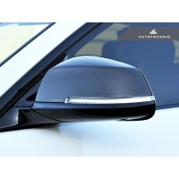 AutoTecknic Replacement Dry Carbon Mirror Covers - E84 X1 | F20 1-Series | F22 2-Series | F30 3-Series | F32/ F36 4-Series | F87 M2