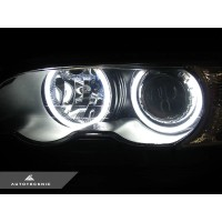 AutoTecknic Clarity 66 LED Halo Kit - BMW E46 3-Series Pre-Facelift Coupe & Sedan