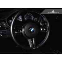 AutoTecknic Carbon Steering Wheel Trim - F87 M2 | F80 M3 | F82/ F83 M4 | F10 M5 LCI | F06/ F12/ F13 M6