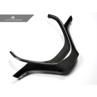 AutoTecknic Carbon Fiber Steering Wheel Trim - F20 1-Series | F22 2-Series | F30/ F34 3-Series | F32/ F36 4-Series