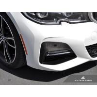 AutoTecknic Dry Carbon Front Bumper Trim - G20 330I M-Sport