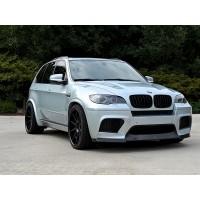 AutoTecknic Replacement Glazing Black Front Grilles - E70 X5 / X5M | E71 X6 / X6M