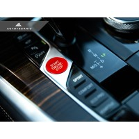 AutoTecknic Bright Red Start Stop Button - G14/ G15/ G16 8-Series