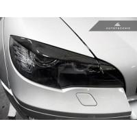 AutoTecknic Carbon Fiber Headlight Covers - E70 X5 / X5M   E71 X6 / X6M