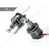 AutoTecknic Clarity LED Angel Eyes Bulbs - H8