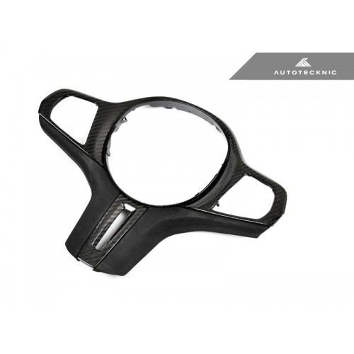 AutoTecknic Carbon Alcantara Steering Wheel Trim - G14/ G15/ G16 8-Series