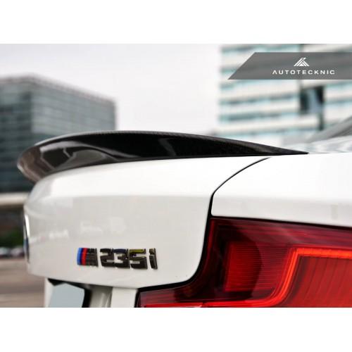 AutoTecknic Carbon Fiber Performante Trunk Spoiler - F22 2-Series | F87 M2 Coupe