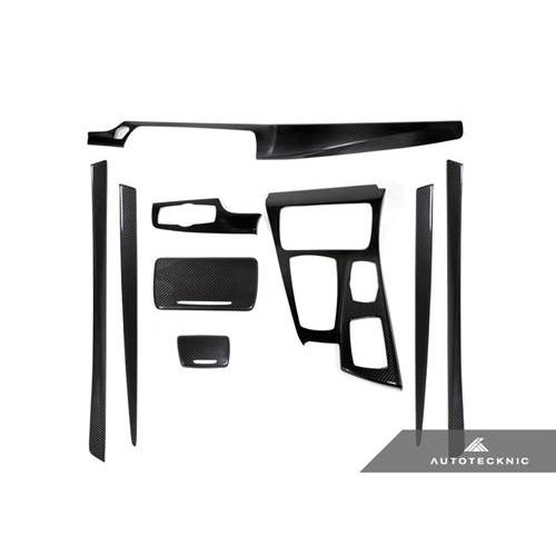 AutoTecknic Dry Carbon Fiber Interior Trim - F10 5-Series